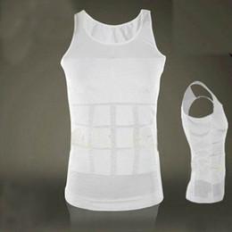 Wholesale Hot TV Product Men Body Slimming Vest Mens Tummy Shaper Vest Girdle Shirt Nylon Colors Shapewear Underwear Good Quality