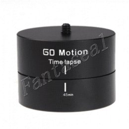 Gopro accessories mount 360 Degrees Panning Rotating 3D panorama delay Time Lapse Stabilizer Tripod Adapter for GoPro Hero 4 3 2