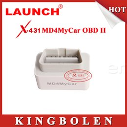 Original Launch MD4MyCar OBDII EOBD Code Scanner Tester Work With Iphone Via Wifi Update Via Launch Website