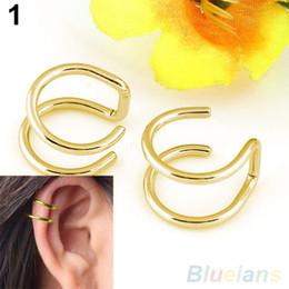 Men's Women's Clip-on Earrings Non-piercing Ear Cartilage Cuff Eardrop Ear Clip