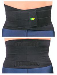 Wholesale Elastic Ribbon slim freeze belt for waist support Health Care Magnetic Slimming Lower Back Support Waist Lumbar Brace Belt Strap Backache Pa