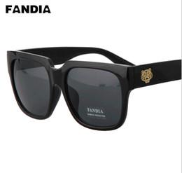 New 2015 brand Personality Big Frame Sunglasses men outdoor Tiger head Sunglass Eyewear Fashion Trend Men women Sun Glasses Free shipping