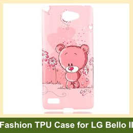 Wholesale Newest Tribe Animal Elephant Owl Bear Cat Flower Wind Chime Soft Gel TPU Cover Case for LG Bello II Drop Shipping