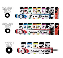 Wholesale SuperStroke Mid Slim Slim Super Stroke Fatso Golf Putter Grips Choose Your Color Size Best Putter Grips For Golf DHL Free
