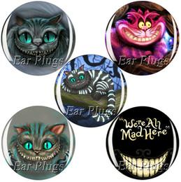 Wholesale ear gauges 60pcs bag Cheshire cat series ear plug gauges tunnel ear expander MTP001