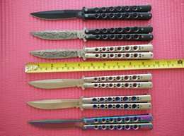 Wholesale Hot sale General Verision Butterfly BM42 knife Outdoor survival tatical knife Fan knife cutting tools best christmas gift L