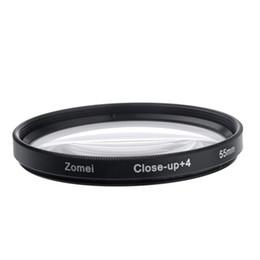 Cerca filtros en venta-Envío gratuito + ZOMEI 55mm 4 Macro cerca de la lente de filtro del primer por SLR Canon Sony Nikon mayorista