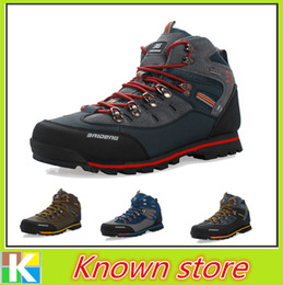 Wholesale New Mens Shoes Brand Hot Sale Waterproof Anti skid Mountain Climbing Boots Athletic Shoes Breathable Outdoor Hiking Shoes