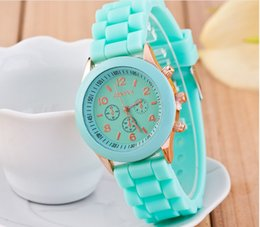 GENEVA WATCH GENEVA WATCH Korean Japanese confectionery quartz WATCH silicone watches for women