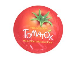 Wholesale 2000pcs Korea Original Tonymoly Tomatox Magic Massage pack whitening moisturizing minute effective mask Cream ml Free Shopping
