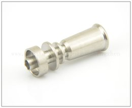 Newest titanium nail domeless-Direct inject design fits 10 mm glass joints and removes the need for a traditional Vapor Dome