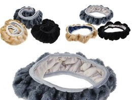 Wholesale New Arrive Warm plush winter car steering wheel cover imitation wool Universal auto supplies car accessories