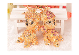 Wholesale Pendant Beaded Necklaces Statement Necklaces Rhinestone Crystal Keyring Charm Pendant Purse Bag Key Ring Chain Keychain Gift Fashion Crystal