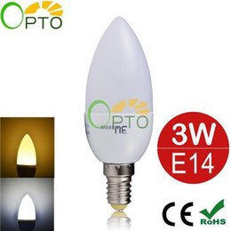 Wholesale Best LED Candle Lamps W High Bright SMD2835 LED Candle Bulb Indoor Lighting Efficient Security Energy Saving LED Lighting Bulbs For Home