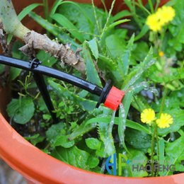 Wholesale adjustable red dripper can use in garden irrigation system