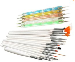 Wholesale 2015 retail Promotion Nail Art Design Set Dotting Painting Drawing Polish Brush Pen Tools