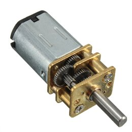 Wholesale Hot Sale RPM V Micro Electric Mini Reduction Metal Gear Motor For RC Car Robot Model DIY Engine Toys House Appliance Parts