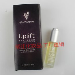 Wholesale DHL Free Hot New High Quality ml Yonique Uplift Eye Serum for Moisturizing Pouch Dark Circle Natural Vitamins Antioxidants EyeSerum