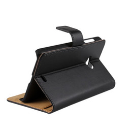For Nokia Lumia 535 Texture Genuine Wallet Leather Case Cover