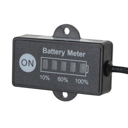 Wholesale LED Battery Indicator Level Meter Gauge V V for Lead acid Battery CEC_539