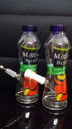Wholesale Bongs Water Pipes NEWEST APPLE JUICE CUPS with Smoke titanium nail Ceramic bowl Height cm mm joint