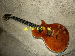 NEW 2015 Brown Supreme Electric Guitar Mahogany body Free Shipping