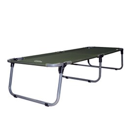 Wholesale garden furniture travelling outdoor folding bed portable steel camp sleeping of the office high quality kd metal bestselling for camping