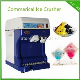 Wholesale hot sale snow cone machine electric Crushed Ice Machine V commerical crushed ice maker machine