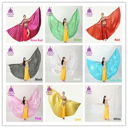 11 colors for chosen Egyptian Egypt Belly Dance Costume Isis Wings Dance Wear Accessories (no stick)
