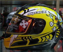 Wholesale Sparx casco cascos casco de la motocicleta de Estados Unidos al por mayor de la marca de casco corrió S Sehwag