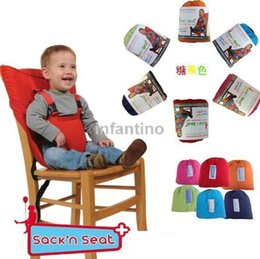 Wholesale Baby Chair Portable Infant Seat Dining Baby Seat Safety Belt Feeding High Chair Harness Baby Furniture cadeira de bebe Dining Lunch Chair