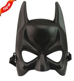 Hot Halloween Batman Mask Adult Black Masquerade Party Carnival Mask For Man Cool Face Costume