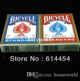 Original Genuine Bicycle Poker Red and Bule New Version Standard Playing Card