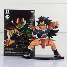 15CM Raditz Dragon Ball's Heel Guku's Brother Figure Model Toy with Box for Children's Toy PVC Free Shipping