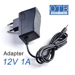 Wholesale 12W Wall horizontal power supply Input AC V V V To DC V A Adapter belt massager power Eu plug