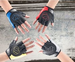 Wholesale-Classic ride gloves semi-finger 4 color Racing Gloves Guantes Racing Luvas de Corrida