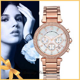 Wholesale New Famous Brand Luxury Crystal Ceramic Dial Bracelet Quartz Wrist Watch Christmas Gift for Ladies Women Gold Rose Gold Silver
