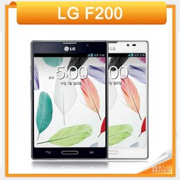 Wholesale Original phone LG Optimus Vu F200L S K Android GB RAM GB ROM MP camera Dual Core Unlocked G Cell phone