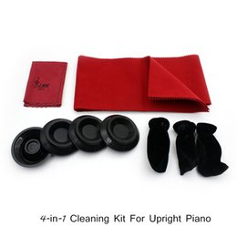 Wholesale Upright Piano in Maintenance Cleaning Kit Set Keyboard Protective Dirt proof Cover Pedal Cover Cleaning Cloth I739