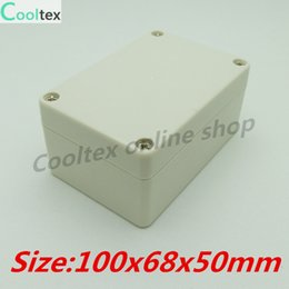 Wholesale new x68x50mm plastic project box abs for enclosure instrument electron housing control junction waterproof electr box