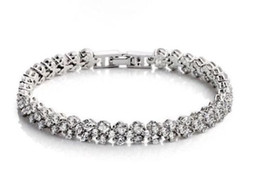 Luxury Fashion Jewellery Luxurious 925 silver Cubic Zirconia women Bracelet gift