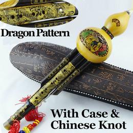 Wholesale Chinese Bamboo Cucurbit Flute Traditional Gourd Flauta Wood Wind Instrument Professional Bambu Musical Instrumento Ethnic Hulusi