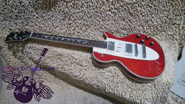 Wholesale Custom Shop Red 1960 Corvette Electric Guitar Mahogany High Quality OEM Cheap
