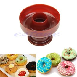 Wholesale Donut Maker Cutter Mold Fondant Cake Bread Desserts Bakery Mould DIY Tool New