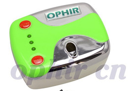 OPHIR Nail Tools 0.3mm Airbrush Kit Mini Air Compressor for Nail Art Stencils & Nail Polish & Bag &Cleaning Brush Set