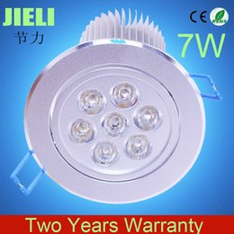 Wholesale-Free Shipping 20pcs lot High Power Frosted 7W AC85-265V LED Ceiling Downlight Recessed LED Downlight