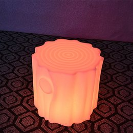 Wholesale 24 keys Remote control Led Luminous waterproof multicolor battery chair commercial Furniture bar stool lights of cube lighting
