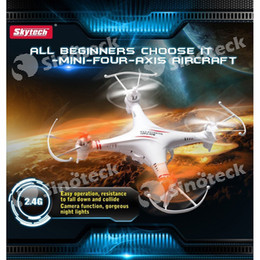 Wholesale M62 Skytech G CH RC Helicopter Radio Control Axis Quadcopter Drone Aircraft Toys M62R with HD Camera Night Vision Free DHL UPS Factory