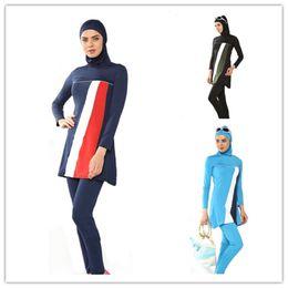 Wholesale Modest Muslim swimwear Islamic Swimsuit for women islamic clothing swim suit muslim hijab bathing suit swimming beachwear plus