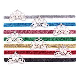 Sequins Baby Crown Headband ,Tiara Headband,Newborn Baby Christening Headband ,Photo Prop Headband for Kids 10pcs lot